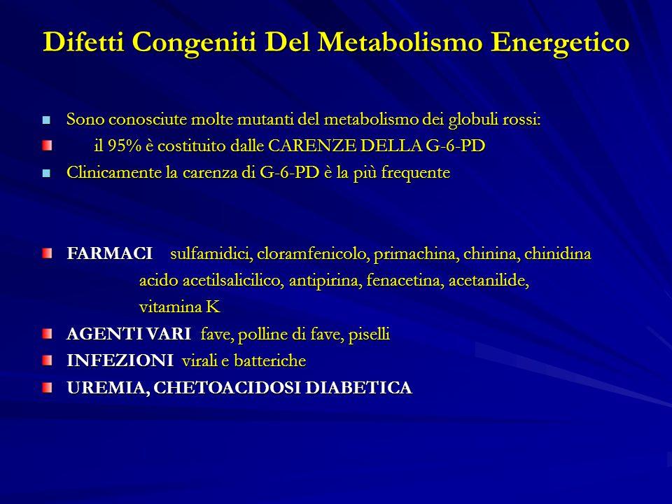 Difetti Congeniti Del Metabolismo Energetico