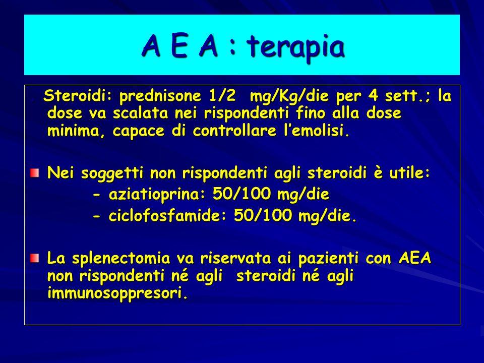 A E A : terapia