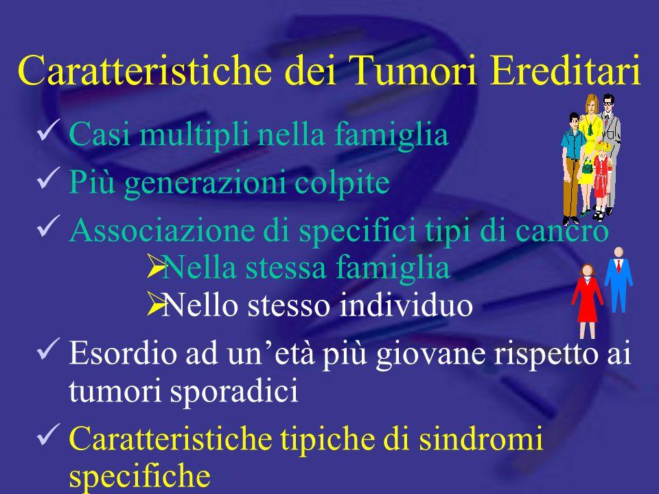 Caratteristiche dei Tumori Ereditari