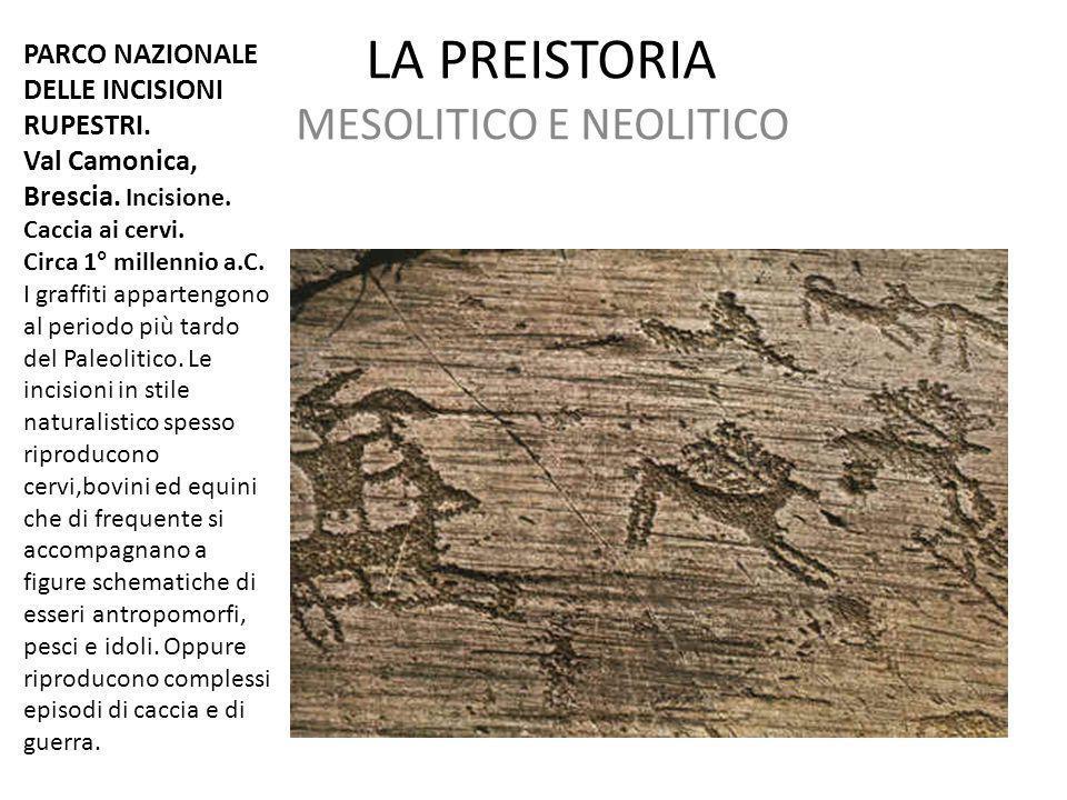MESOLITICO E NEOLITICO