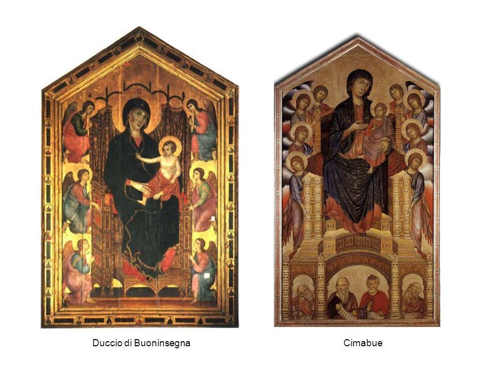 Duccio di Buoninsegna Cimabue