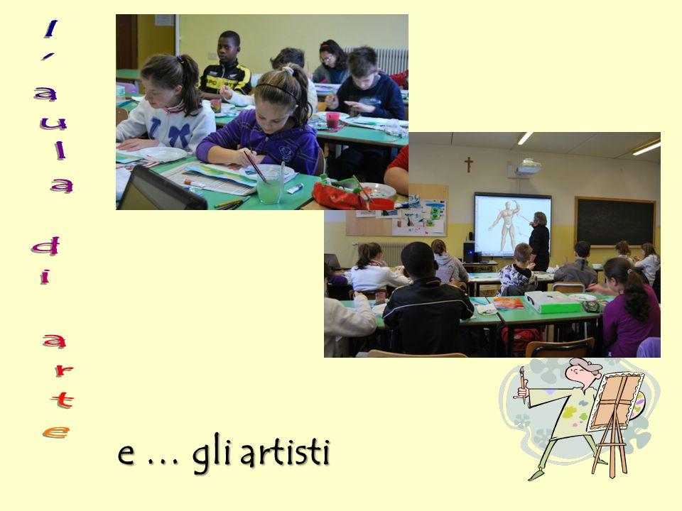 l aula di arte e … gli artisti