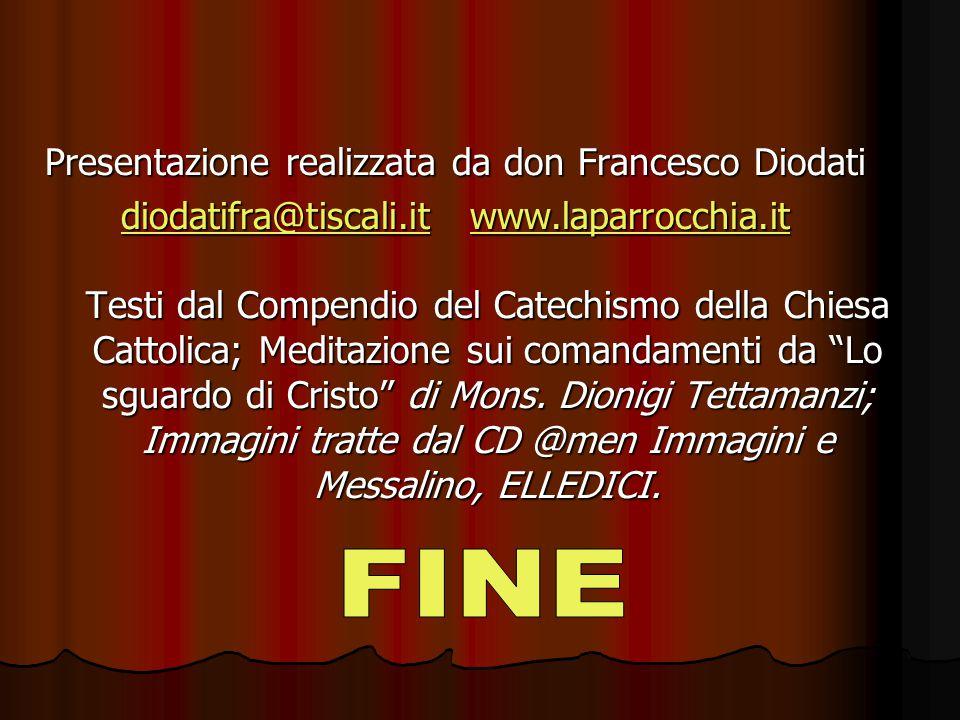 Presentazione realizzata da don Francesco Diodati