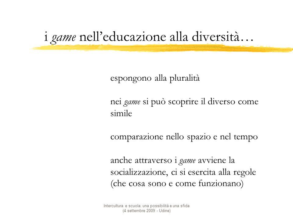 i game nell'educazione alla diversità…