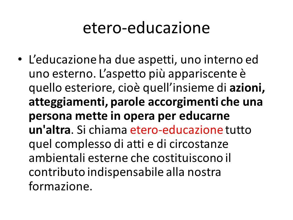 etero-educazione