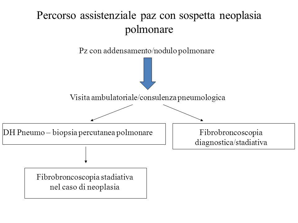 Percorso assistenziale paz con sospetta neoplasia polmonare