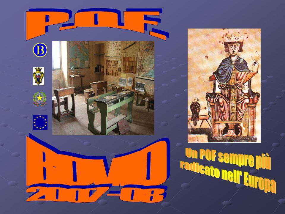 P. O. F. BOVIO Un POF sempre più radicato nell Europa 2007 - 08