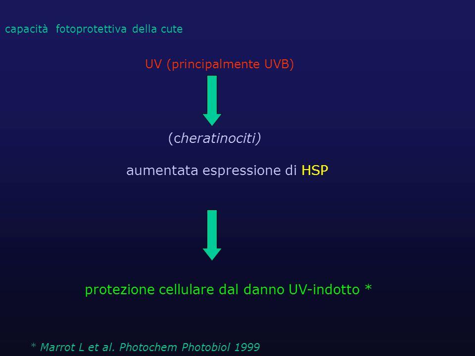 UV (principalmente UVB)