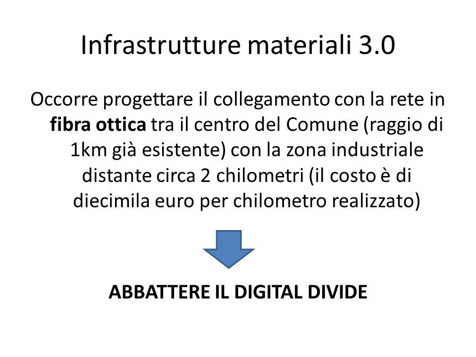 Infrastrutture materiali 3.0