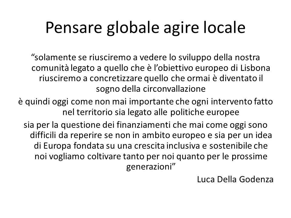 Pensare globale agire locale