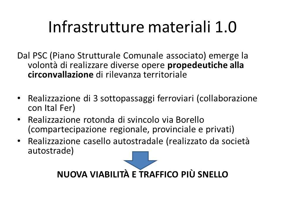 Infrastrutture materiali 1.0