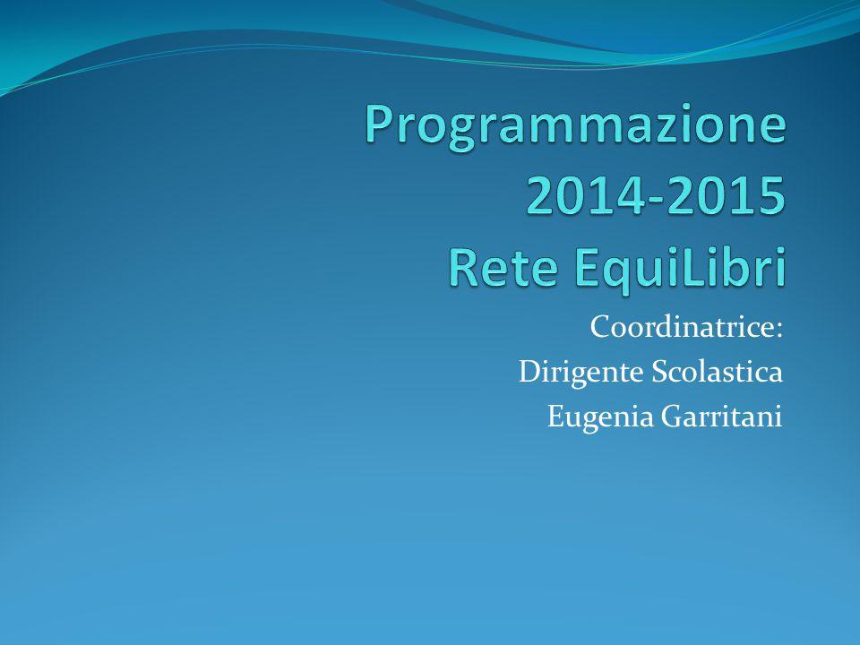 Programmazione 2014-2015 Rete EquiLibri