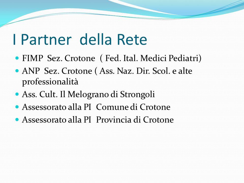 I Partner della Rete FIMP Sez. Crotone ( Fed. Ital. Medici Pediatri)
