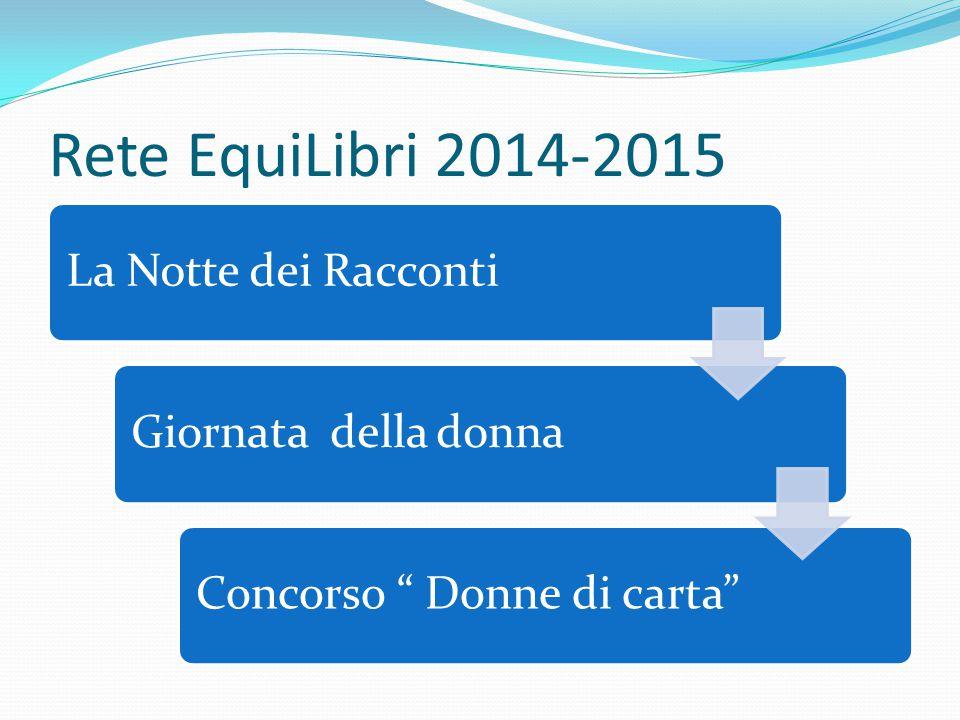 Rete EquiLibri 2014-2015 La Notte dei Racconti Giornata della donna