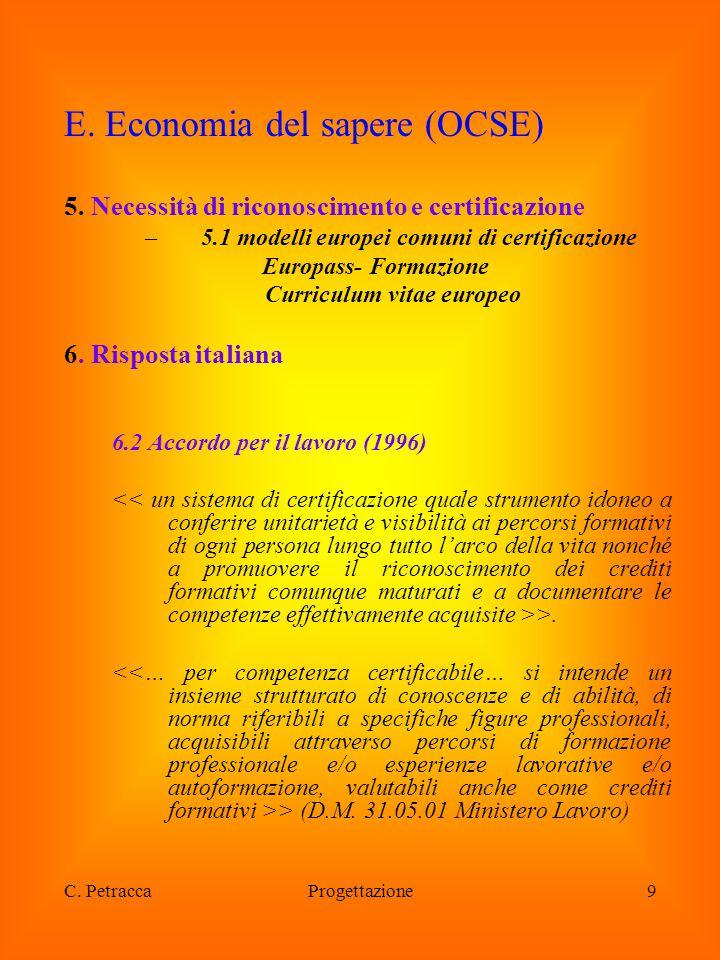 5.1 modelli europei comuni di certificazione