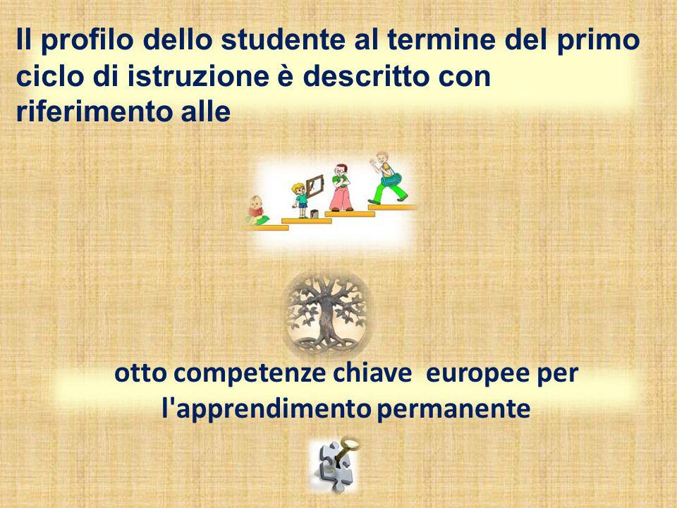 otto competenze chiave europee per l apprendimento permanente