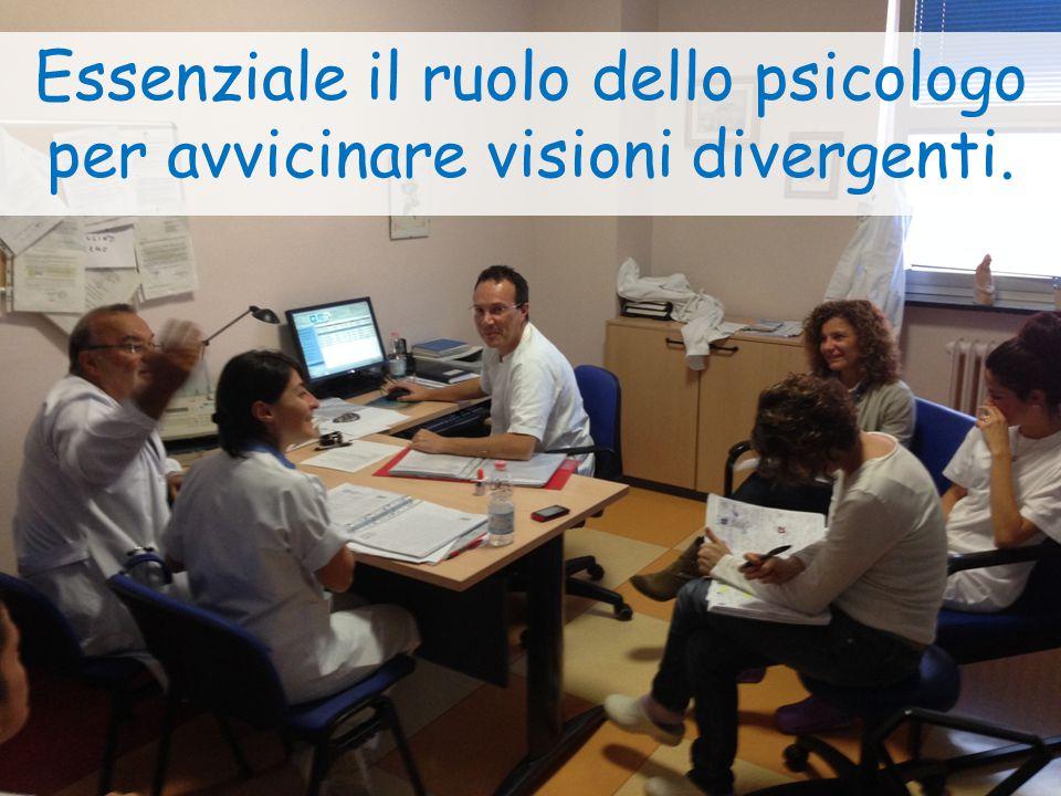 Essenziale il ruolo dello psicologo per avvicinare visioni divergenti.