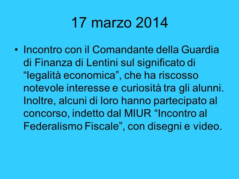 17 marzo 2014