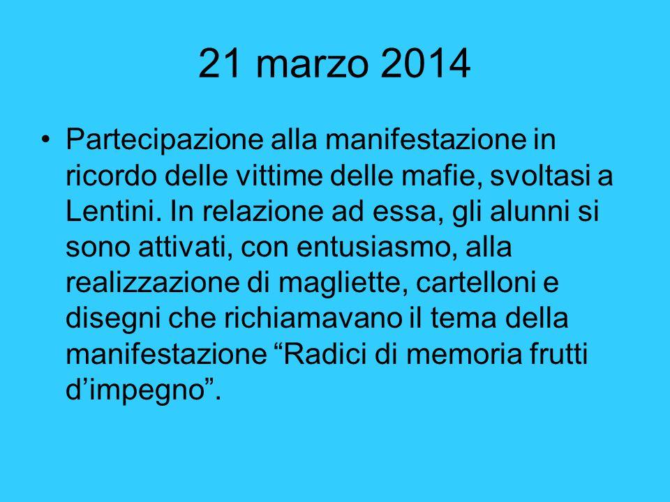 21 marzo 2014