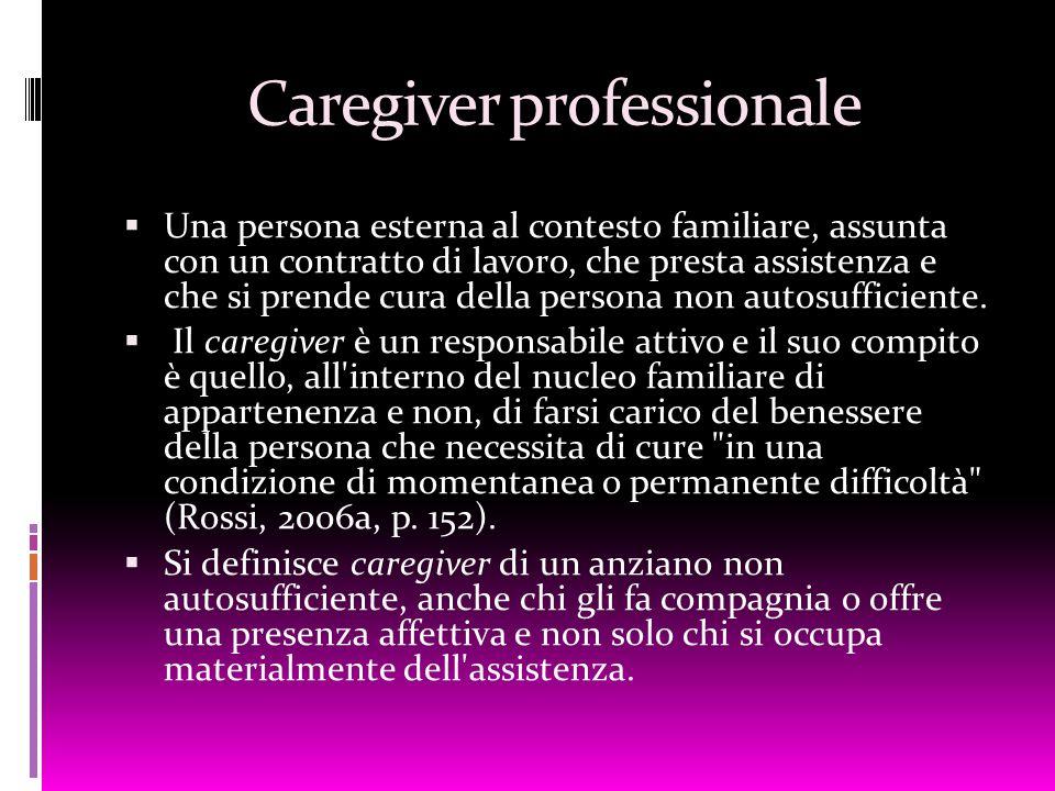 Caregiver professionale