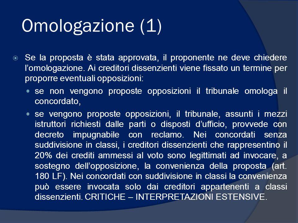 Omologazione (1)