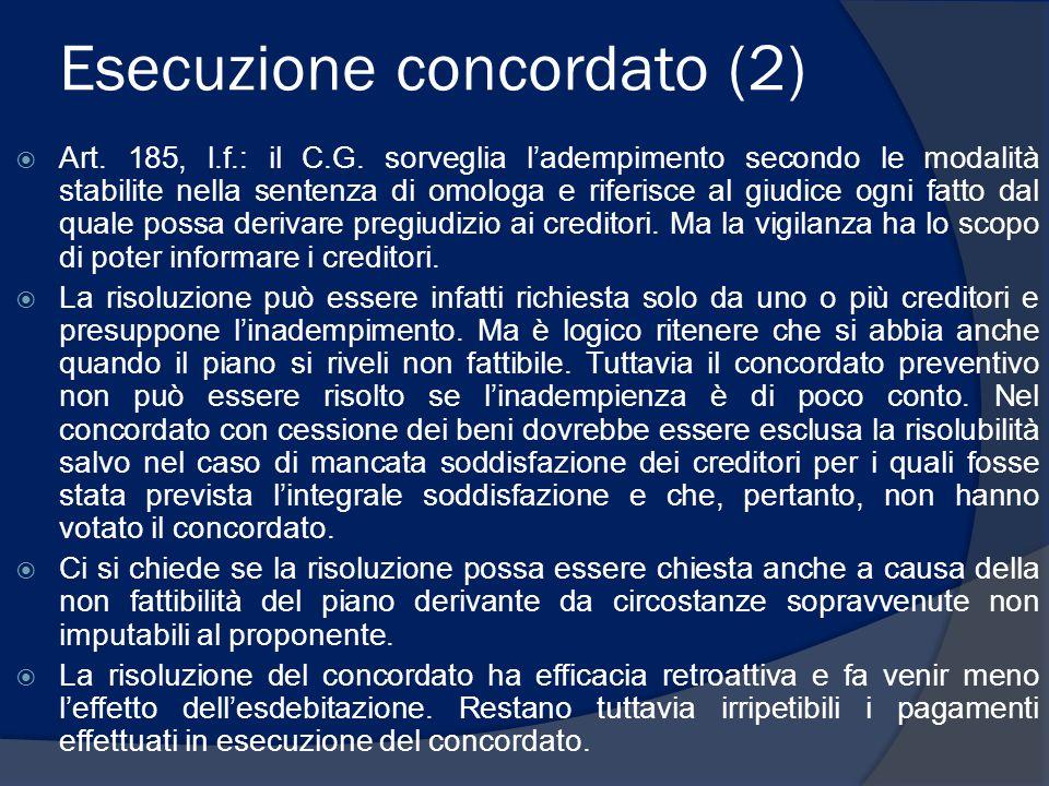 Esecuzione concordato (2)