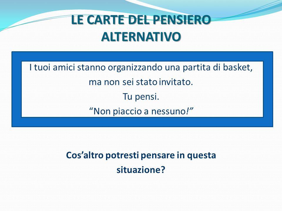 LE CARTE DEL PENSIERO ALTERNATIVO