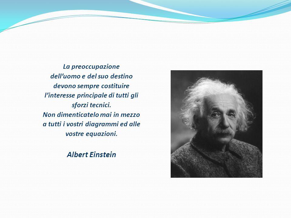 Albert Einstein La preoccupazione dell'uomo e del suo destino