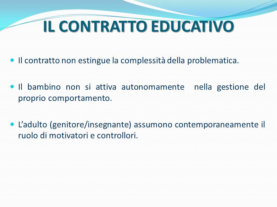 IL CONTRATTO EDUCATIVO