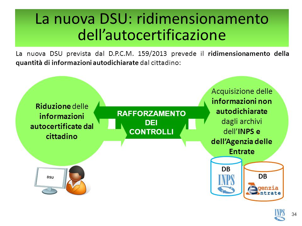 La nuova DSU: ridimensionamento dell'autocertificazione