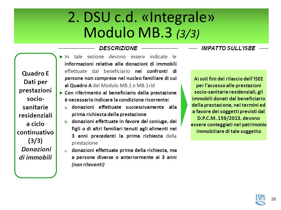 2. DSU c.d. «Integrale» Modulo MB.3 (3/3)
