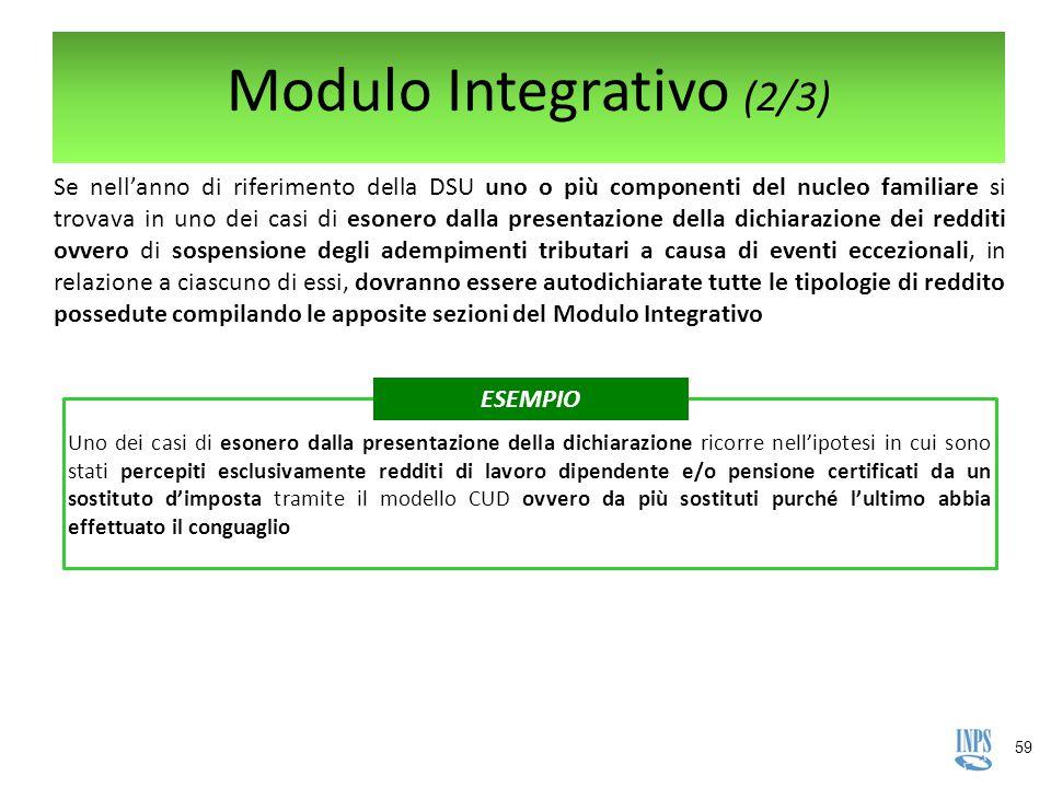 Modulo Integrativo (2/3)