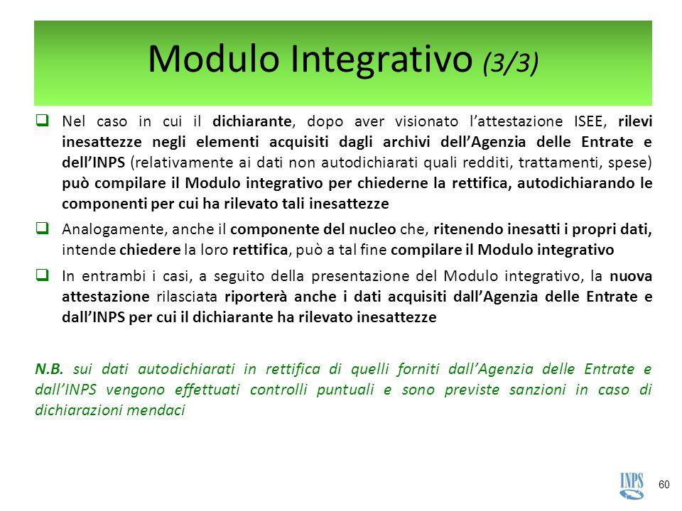 Modulo Integrativo (3/3)