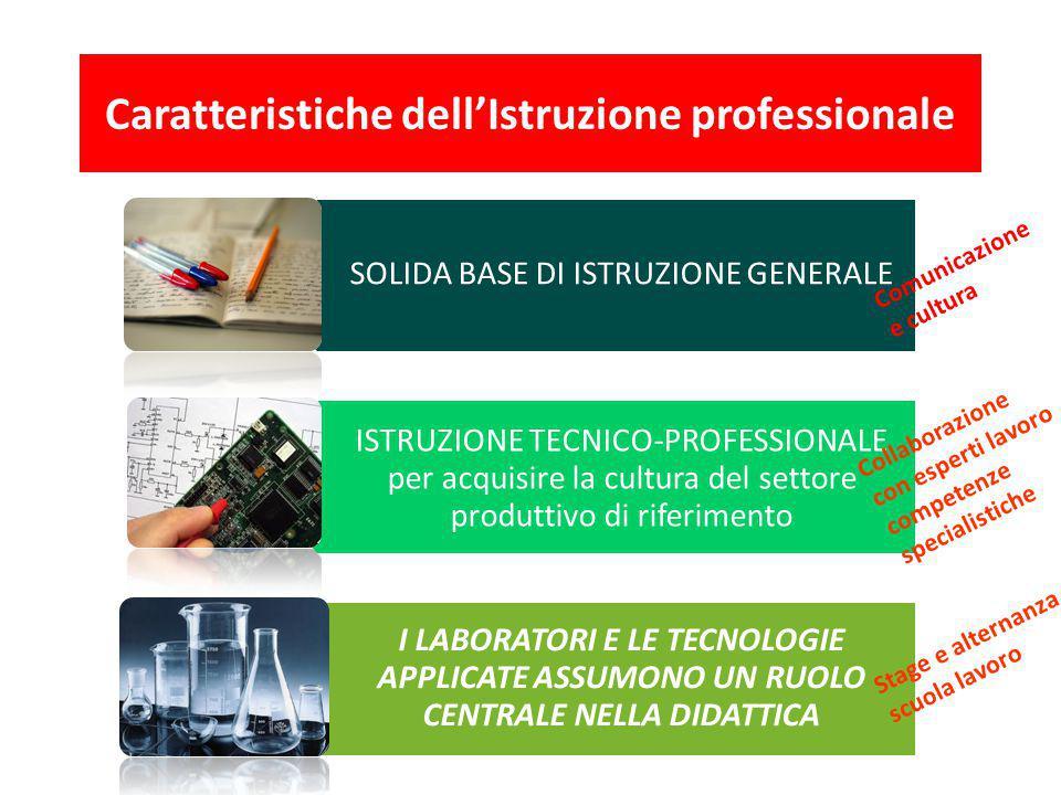 Caratteristiche dell'Istruzione professionale
