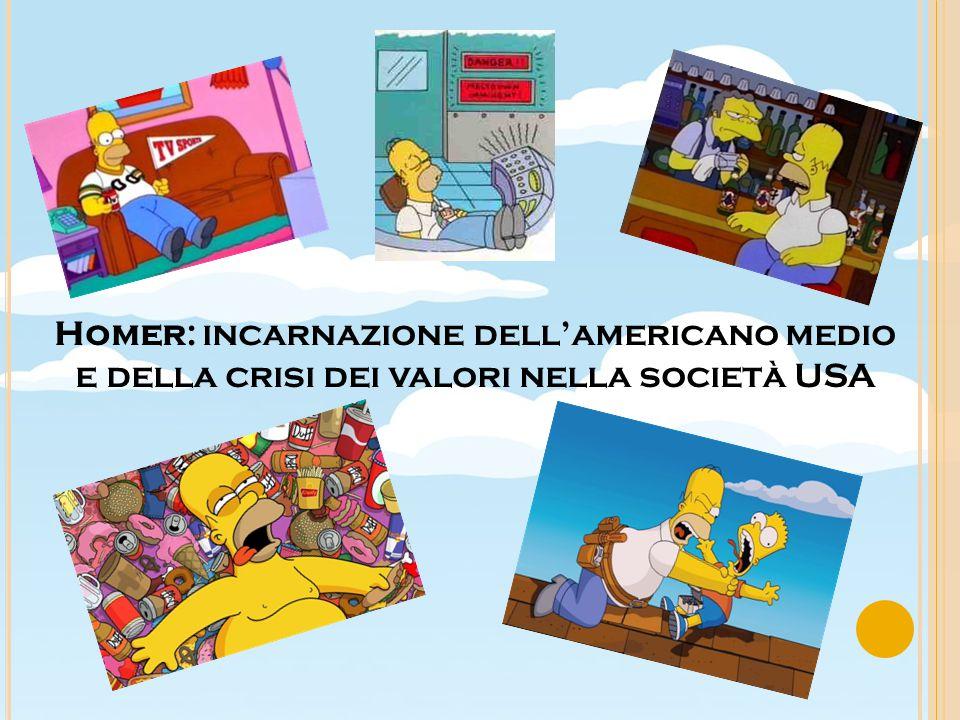 Homer: incarnazione dell'americano medio