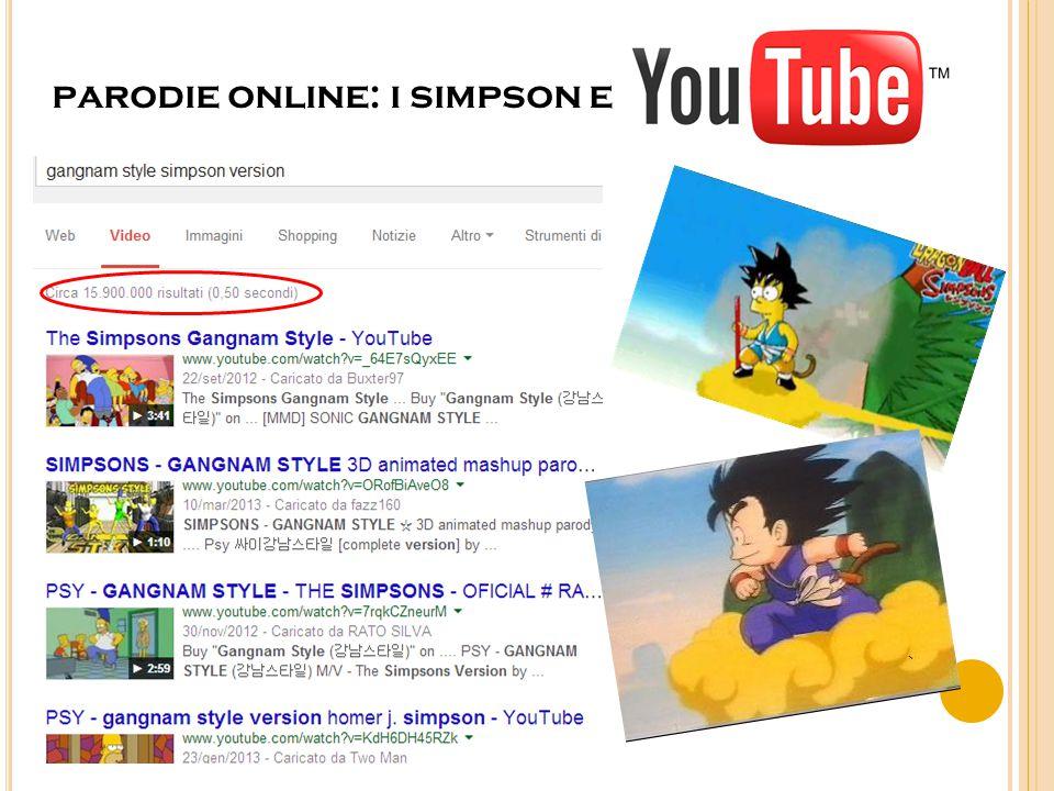 parodie online: i simpson e
