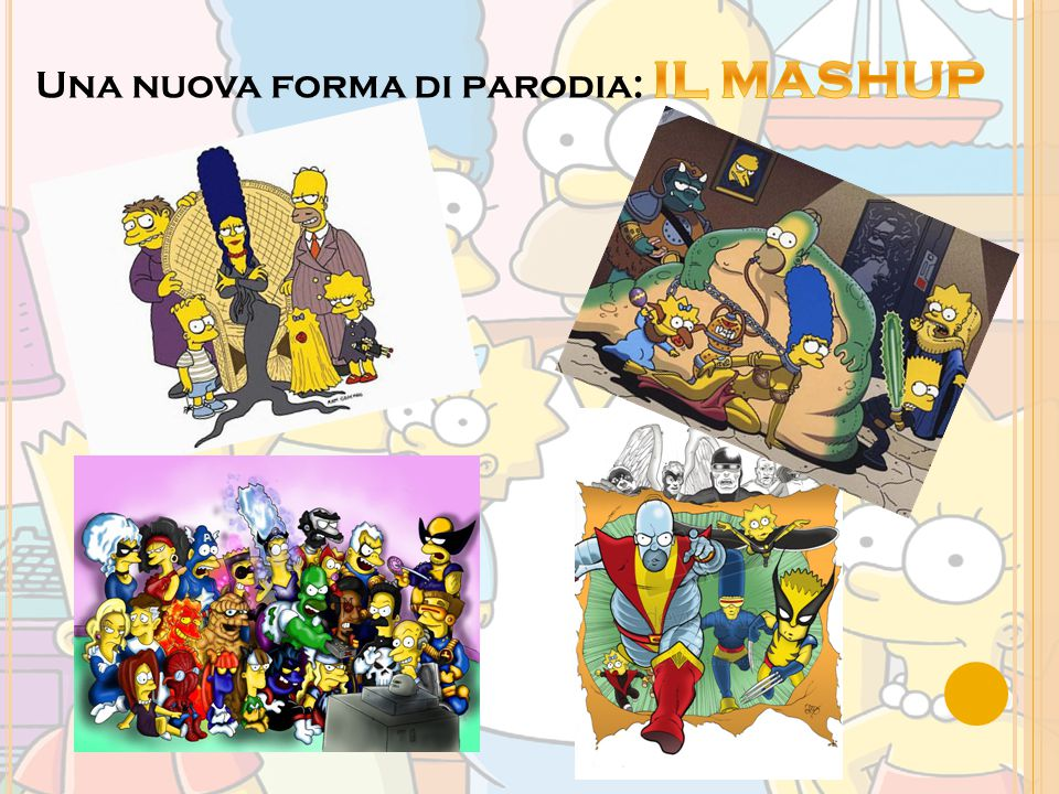 Una nuova forma di parodia: IL MASHUP