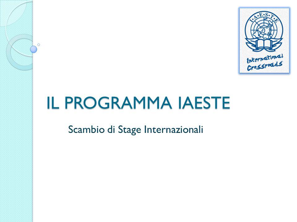 Scambio di Stage Internazionali