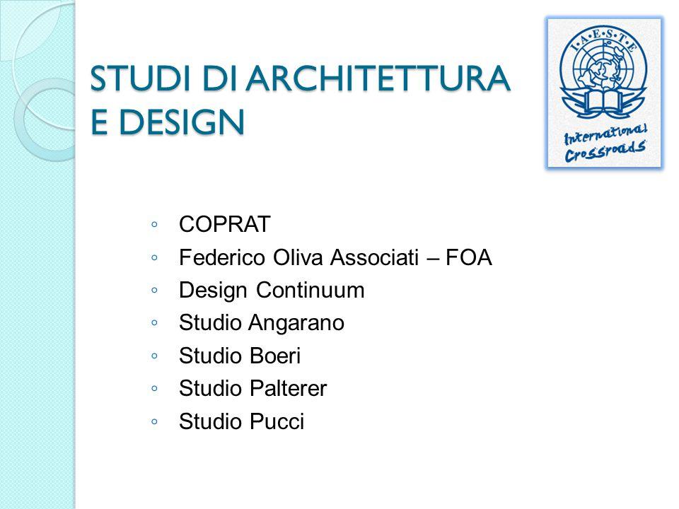STUDI DI ARCHITETTURA E DESIGN