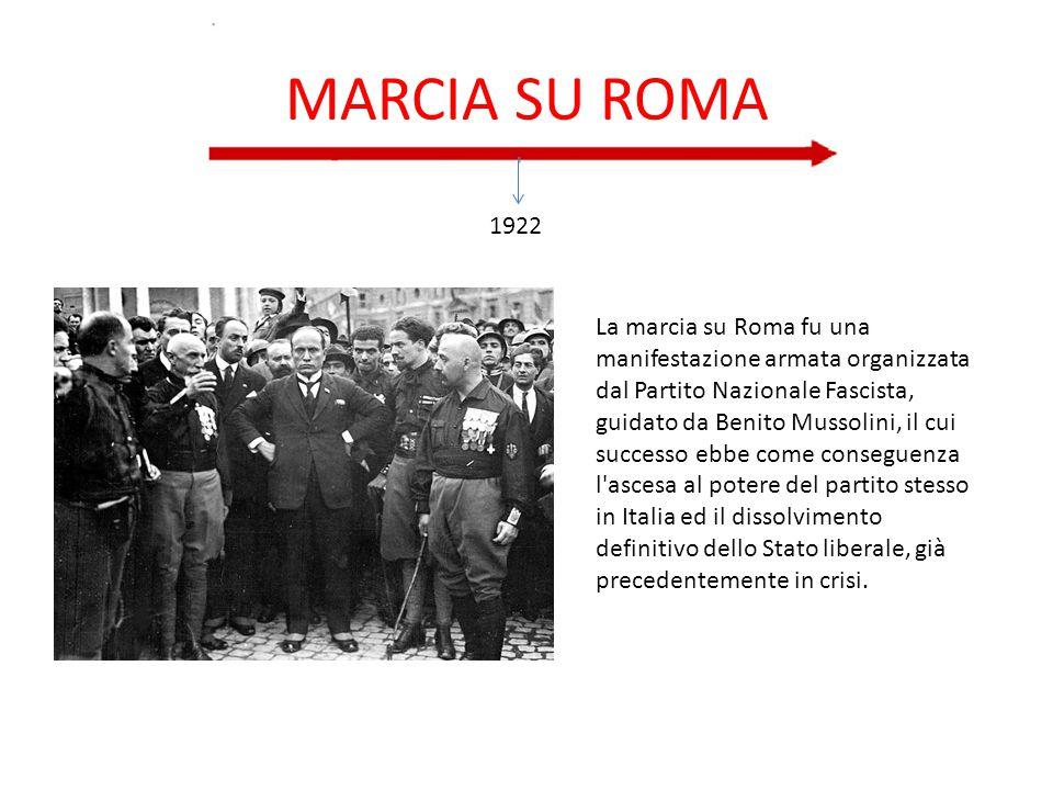 MARCIA SU ROMA 1922.