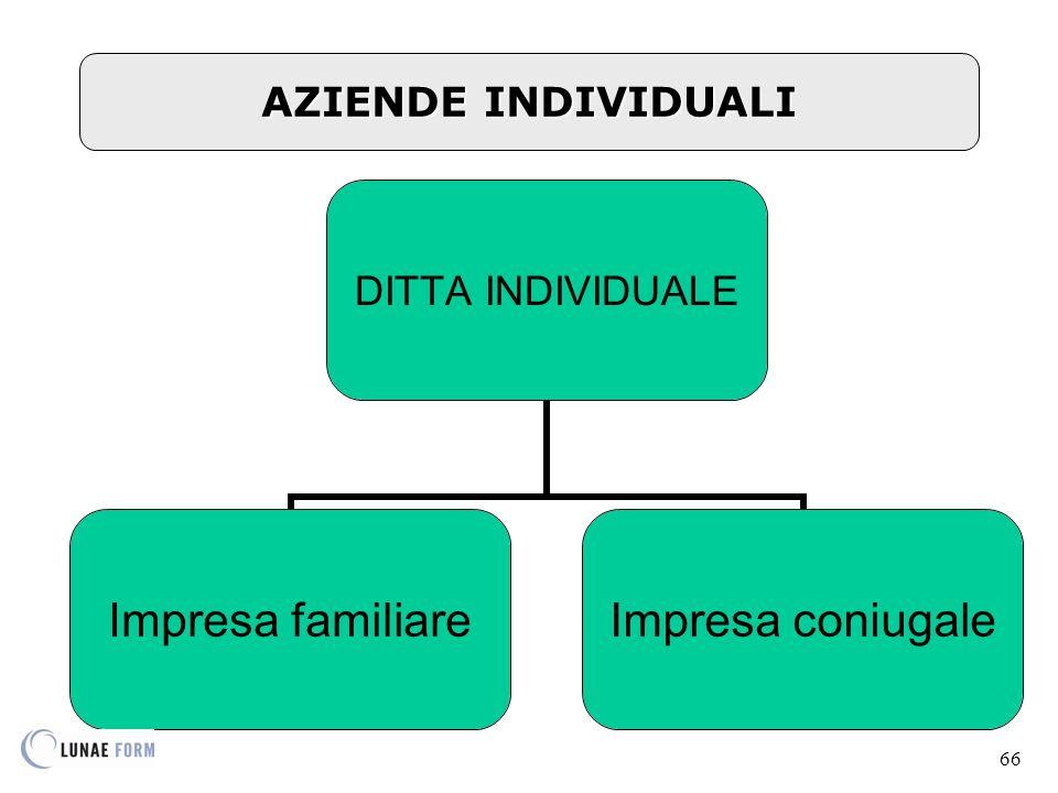 AZIENDE INDIVIDUALI