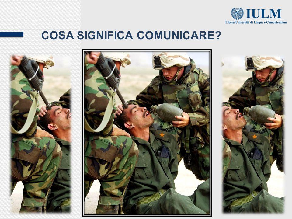 Cosa significa comunicare