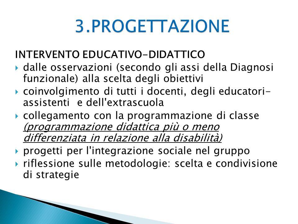 3.PROGETTAZIONE INTERVENTO EDUCATIVO-DIDATTICO