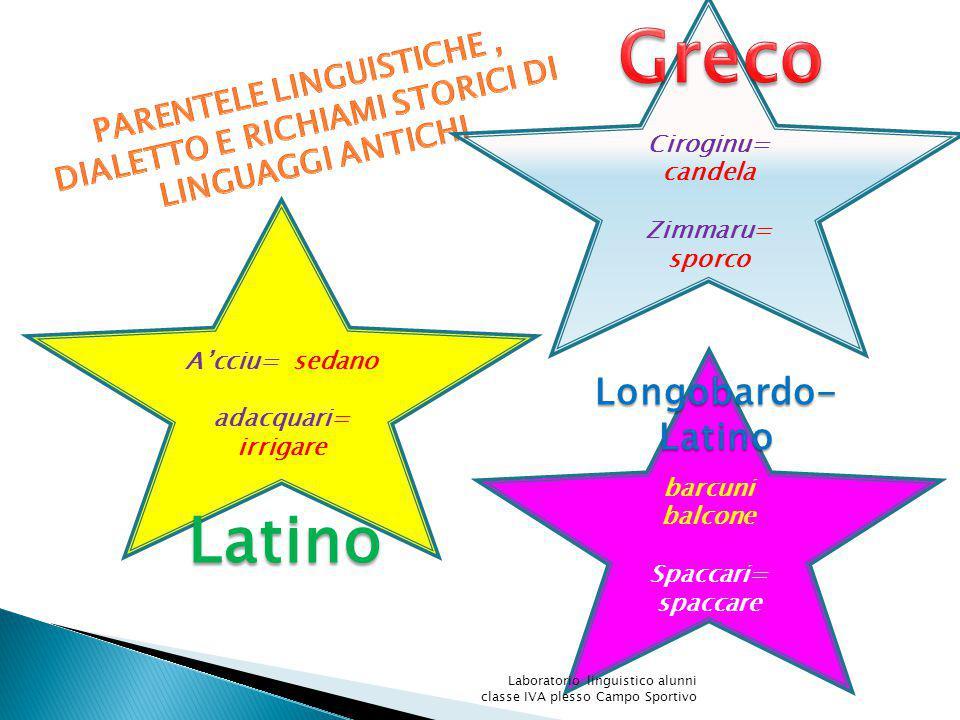 Greco Latino Longobardo-Latino