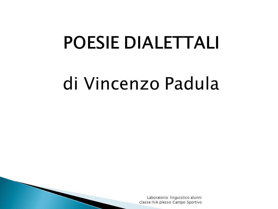 POESIE DIALETTALI di Vincenzo Padula