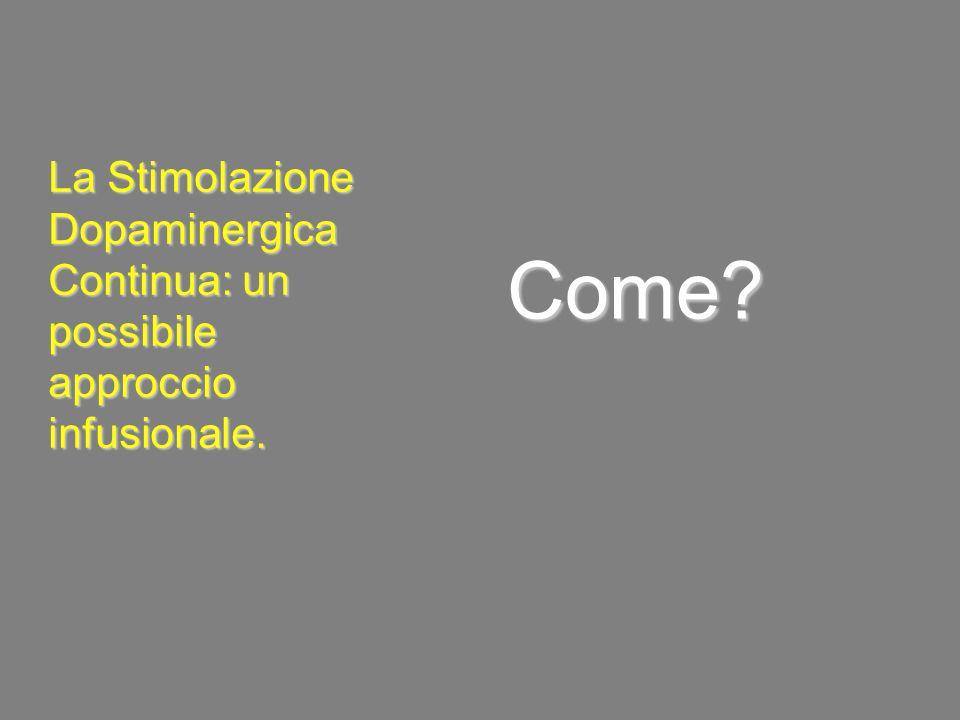 Come La Stimolazione Dopaminergica Continua: un possibile approccio infusionale.
