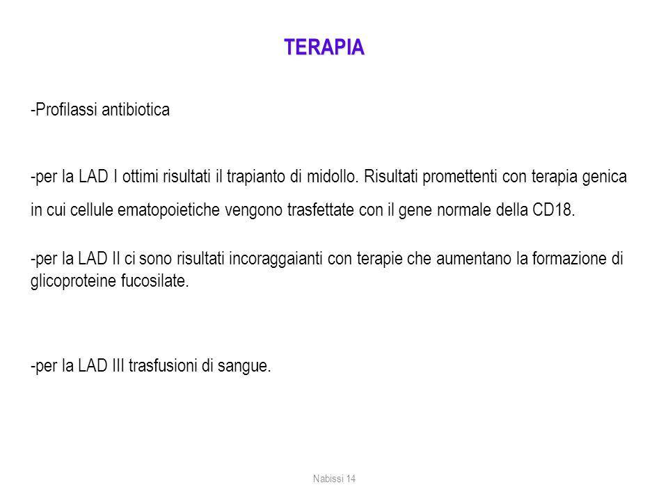 TERAPIA -Profilassi antibiotica