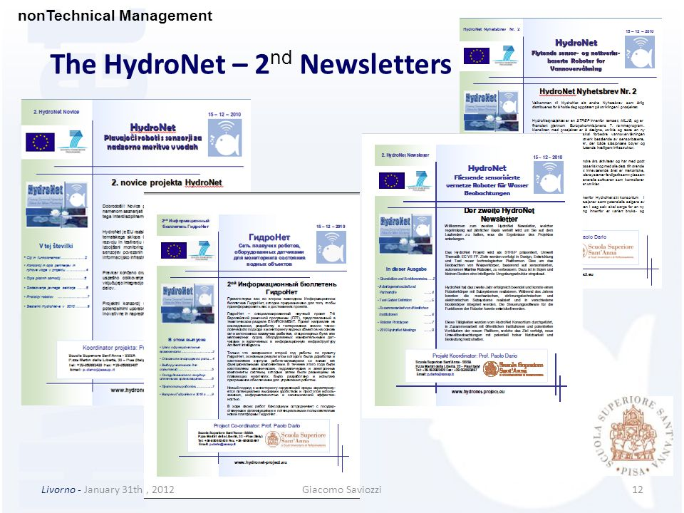The HydroNet – 2nd Newsletters