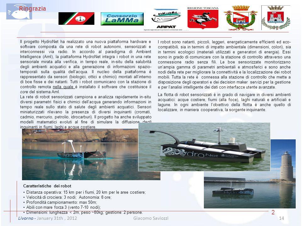 Ringrazia 2 Livorno - January 31th , 2012 Giacomo Saviozzi