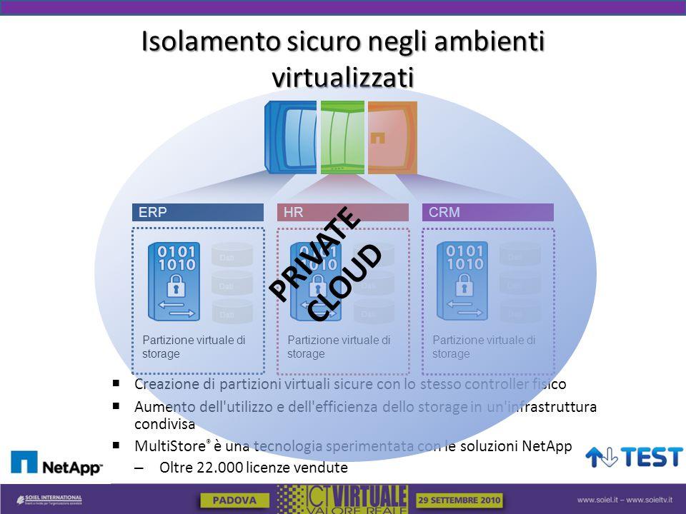 Isolamento sicuro negli ambienti virtualizzati